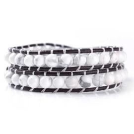 Lulu armband wit - S10980