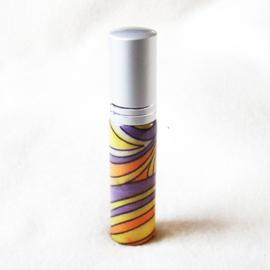 Parfumverstuiver lila, geel en oranje - D11599f