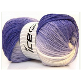 Ice Yarns Magic Light paars/lila/wit