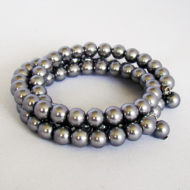 Armband grijze parels - S10869