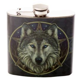 Flask Lisa Parker - Wolf - D13030