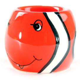 Eierdopje clownvis rood - D10958
