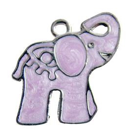 Bedel olifantje roze