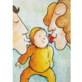 Kaart baby - Sidedish - SD0026