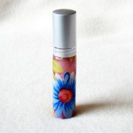 Parfumverstuiver met gekleurde bloemen - D11599q