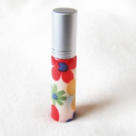 Parfumverstuiver met gekleurde bloemen - D11599l