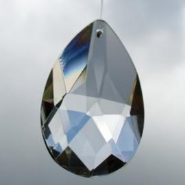 Kristallen hanger - 6x3 cm - O10259