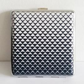 Sigarettenkoker zwart/wit - D12931