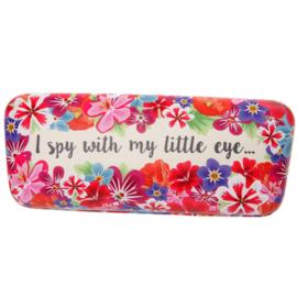 Brillenkoker I spy... - wit - D12770