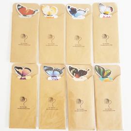 Boekenlegger vlinder - D13337