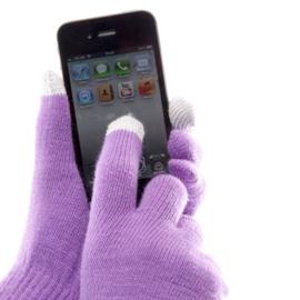 Icetouch handschoen paars - D11401