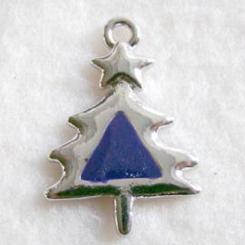 bedel kerstboom paars - S10316