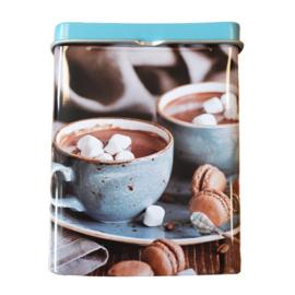Sigarettendoosje hot chocolat