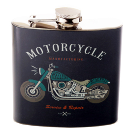 Flask 'Motorcycle Manufacturing' - D13031