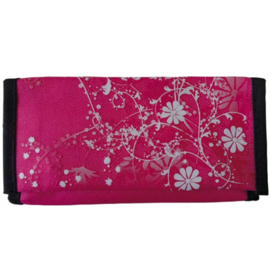 Shagetui roll-up Pink Flowers - D12836
