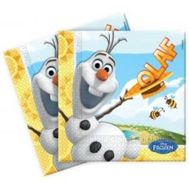 Servet Frozen Olaf (5 stuks) - D13092