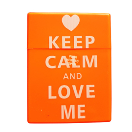 Sigarettendoosje keep calm and love me - D14111