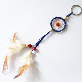 Dromenvanger sleutelhanger donkerblauw - 111851a