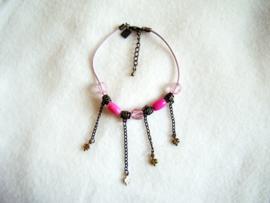 Enkelbandje roze - S10120
