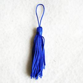 Kwastje blauw - Z00093