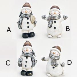 Sneeuwpopje 11 tot 13 cm - WD00025