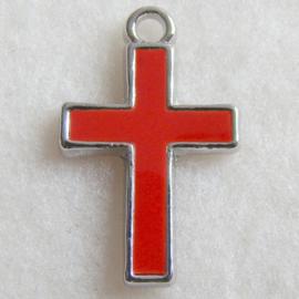 Bedel kruis, rode epoxy - S10474