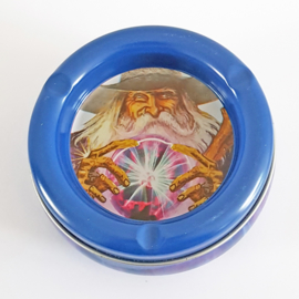 Stashtray met asbak - glazen bol - D13224