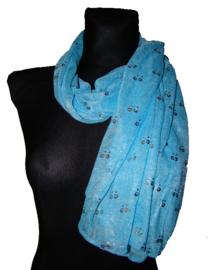 Lichtblauwe shawl - KL10011