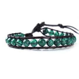 Lulu armband groen - S10988