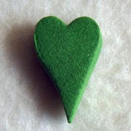 Wierook in hartvorm apple (10 stuks) - O10166