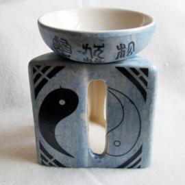 Olieverdamper yin yang, driehoek - O10398