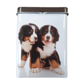 Sigarettendoosje met 2 honden