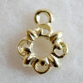 Bedel bloem goudkleur - S10240
