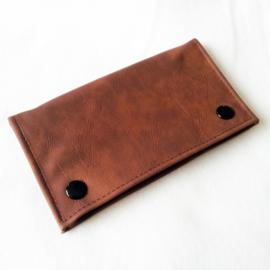 Shagetui kunstleer bruin - D12500