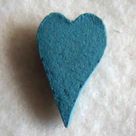 Wierook in hartvorm eucalyptus (10 stuks) - O10010