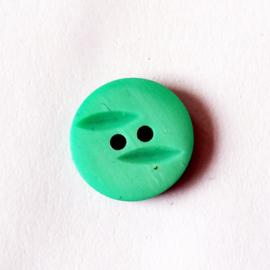 Knoop groen 15 mm - D12084