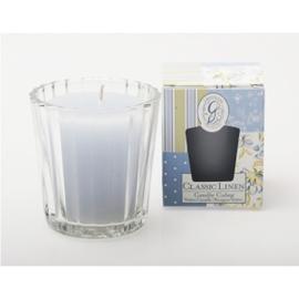 Glaasje voor de Candle Cubes van Greenleaf, ribbel