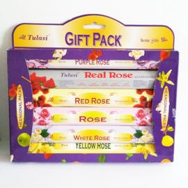 Tulasi wierook giftpack - Rose