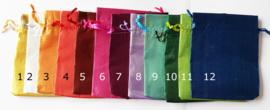 Cadeauzakje verkrijgbaar in 12 kleuren 10x12,5 cm - Z00320h