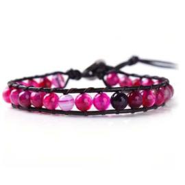 Lulu armband roze - S10989