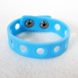 Jibbitz armband blauw 15 cm - S11115