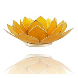Sfeerlicht Chakra (3) Lotus geel - O10502