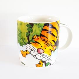 Kinderbeker tijger - WD00021