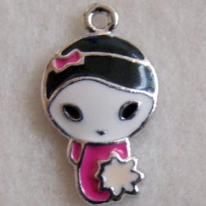 Bedel meisje roze - S10196