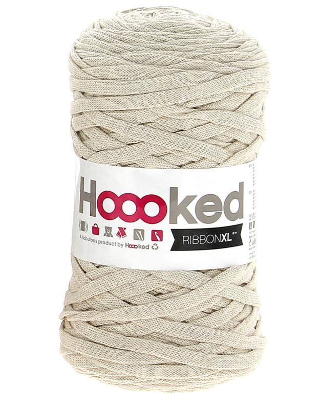 Hoooked Ribbon XL Sandy Ecru