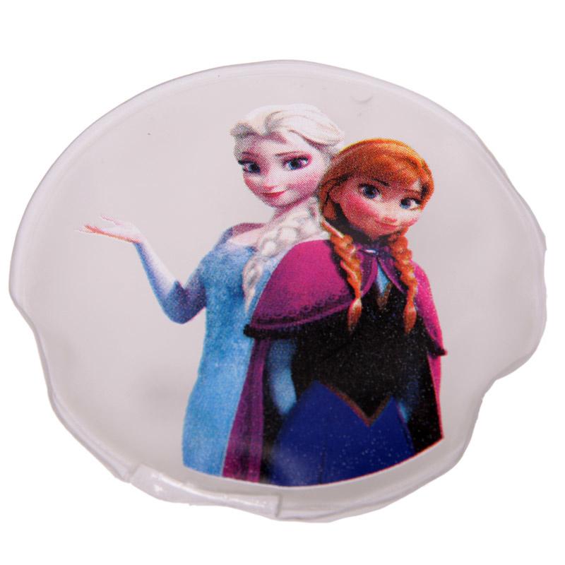 Frozen handwarmer rond - Anna en Elsa - D12459a