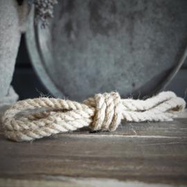 Dik stoer touw in lus 200cm