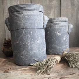 Brynxz set of 2 pots kitchen with top majestic vintage
