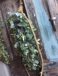 DIY pakket stoere toef Eucalyptus | Olijf en Distel