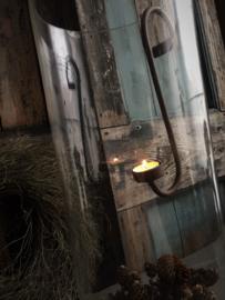 Smeedijzeren hangkandelaar voor waxinelicht